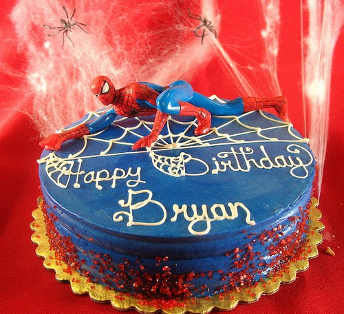 Birthday Cake Designs Spiderman : Birthday Cake Spiderman Become the super hero to the ...