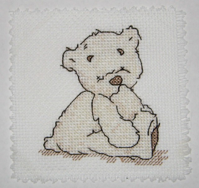 Cross Stitch - Lickle Ted | Stephanie Clifford | Flickr