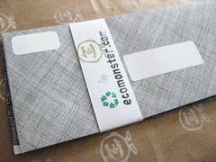 no. 5 - reversed junk mail envelopes | by Eco_Monster