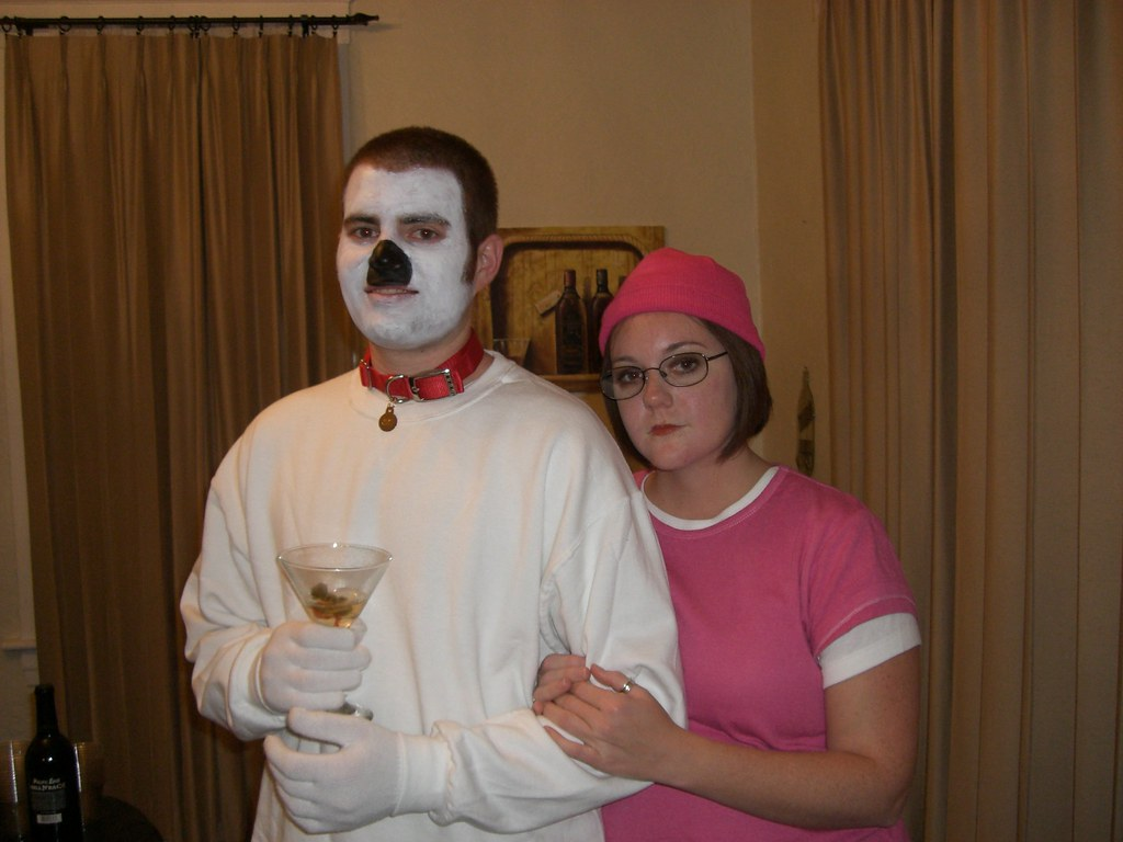 Brian and Meg Griffin Halloween Costume | at Amber's house ...