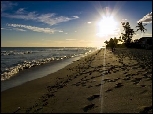 Sunset At Ewa Beach Aloha Comes From Ewa Beach In Ewa