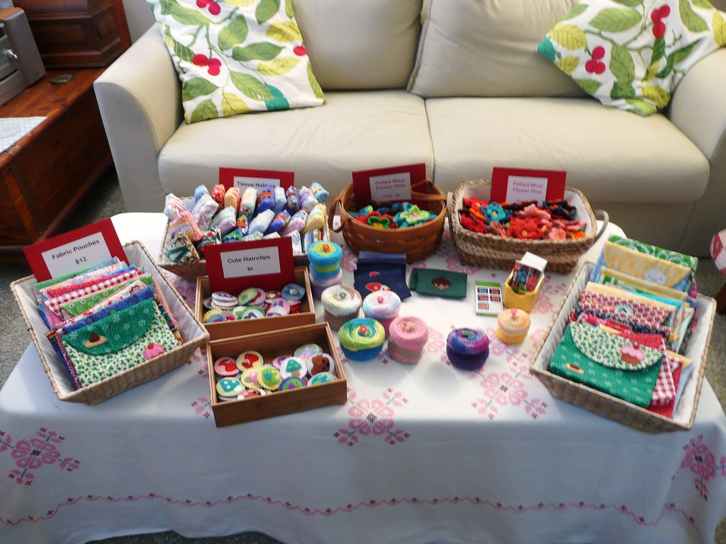 Table Set Up Craft Show