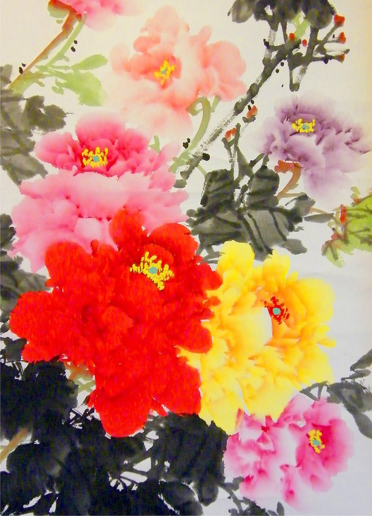 Chinese Flower Painting Made Easy Chinese Flower Silk Painting
