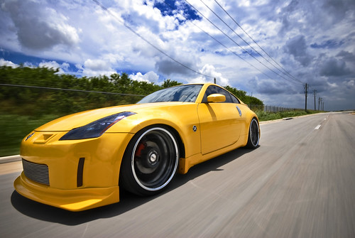 Nissan 350Z on Sevas Forged R77 | by GREATONE!