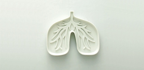 Design Blog Sociale - 8 July 2008 - Lung Ashtray designed by Chi-Ja Ling from Finding Cheska studio | by SOCIALisBETTER