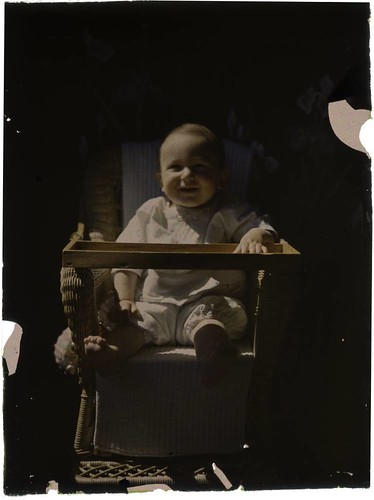 Baby in highchair | by George Eastman House