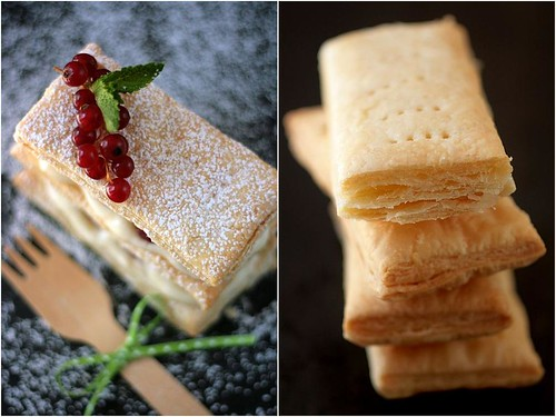 Lemon Raspberry Mille Feuilles | by tartelette