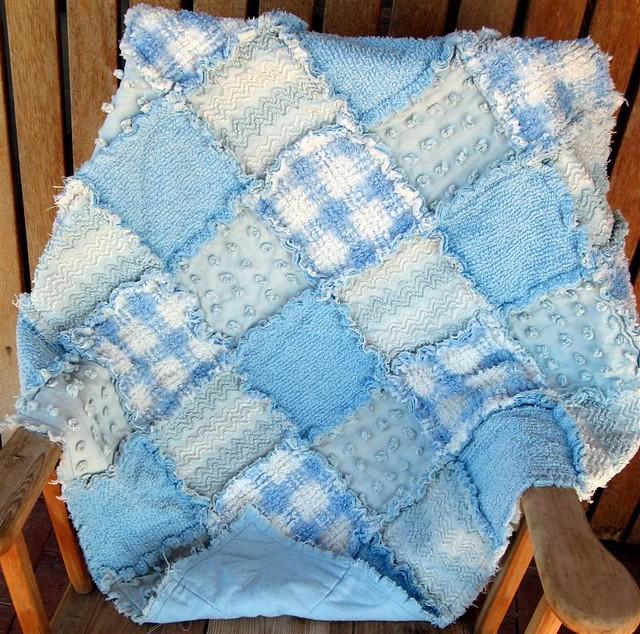 vintage chenille patchwork quilt   vintage chenille blue ...