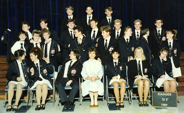 std 10e1, stanger high school, 1989 | i scanned some old ...