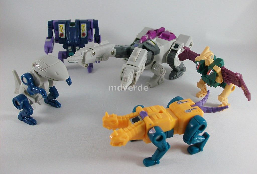 Transformers Terrorcons G1 Los 5 Terrorcons Que Forman A