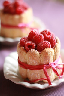 Raspberry Charlotte | by SweetAlmond