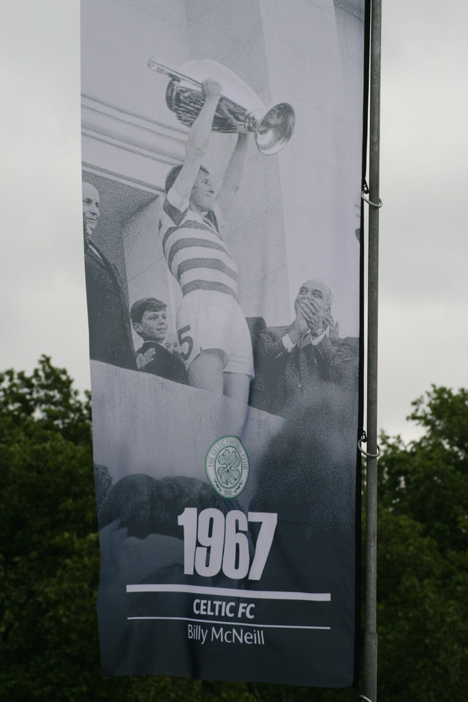 Billy Mcneill Lisbon Celtic Billy Mcneill