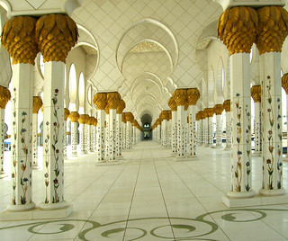 Sheikh Zayed, Grand Mosque, Abu Dhabi | by Jenny Mackness