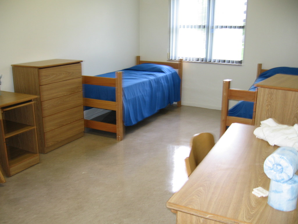 Panther Hall Double Room B   Panther Hall Double   FIU ...