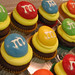 m&m's cupcakes
