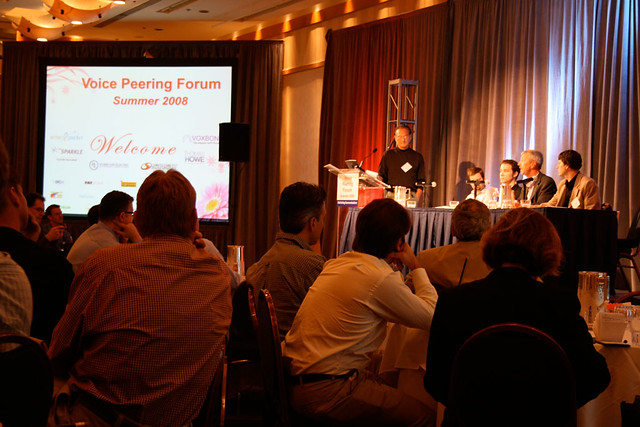 Gary Kim Hosting Panel @ Voice Peering Forum 2008