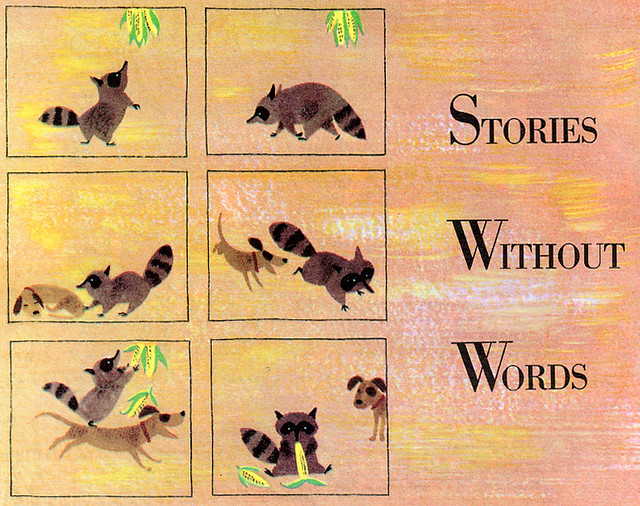 Stories With Pictures For Words Stories Without Words | by