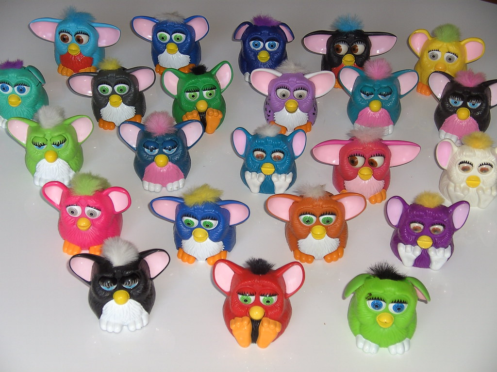 Furbies Mcdonald S Furby Happy Meal Toys Are Miniature
