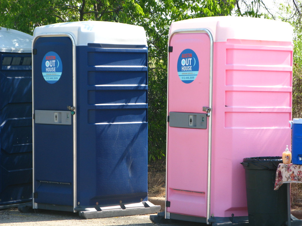 His And Her Outhouses I 39 M Not Using A Porta Potty
