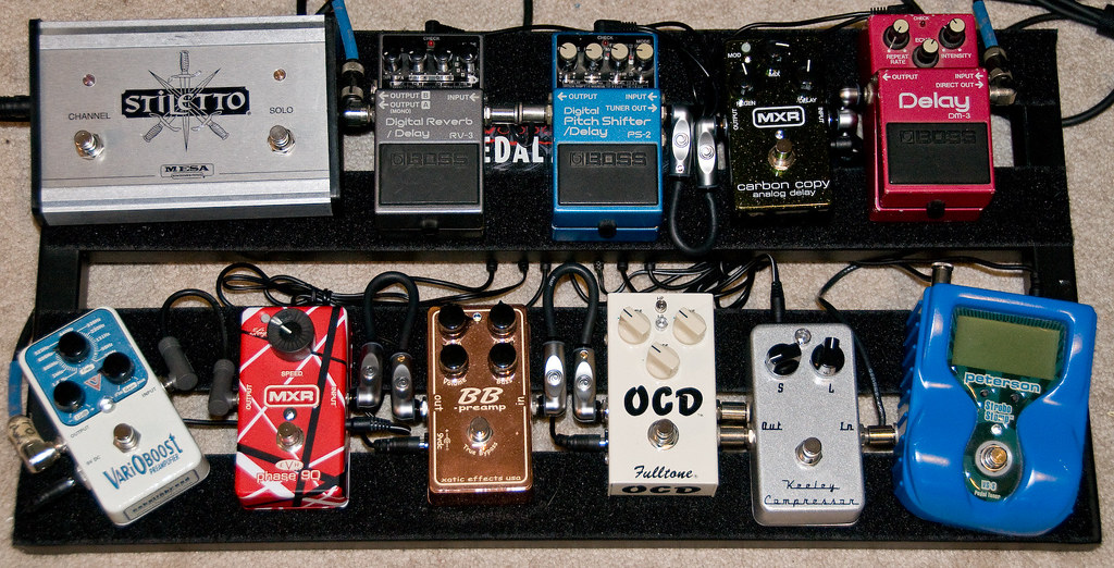 my new pedalboard complete for the moment i finally 39 fin flickr. Black Bedroom Furniture Sets. Home Design Ideas