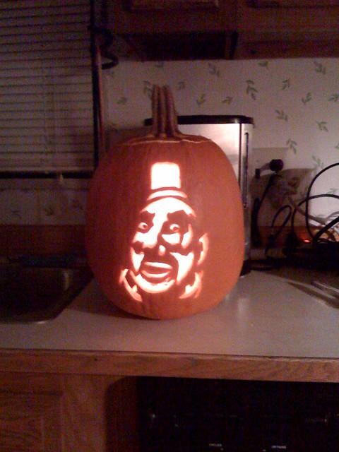 Captain Spaulding Pumpkin Ken Hudak Flickr