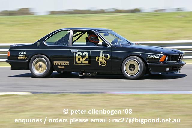 Bmw 635 Jps Atcc Sandown Historic Racing 09 11 08 Sahi