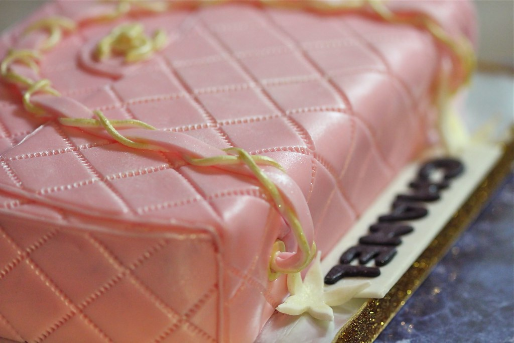 Pink Chanel Purse Cake Chanel Purse Cake Flickr
