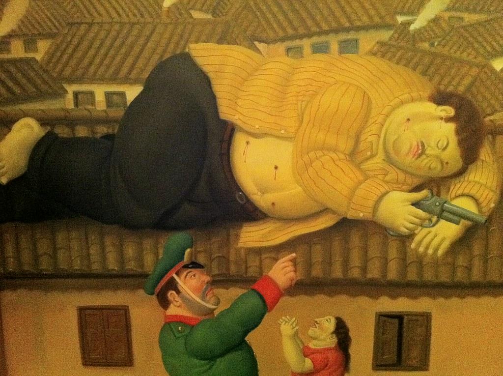 Muerte de pablo escobar de fernando botero museo de antioq - Fotos de botero ...