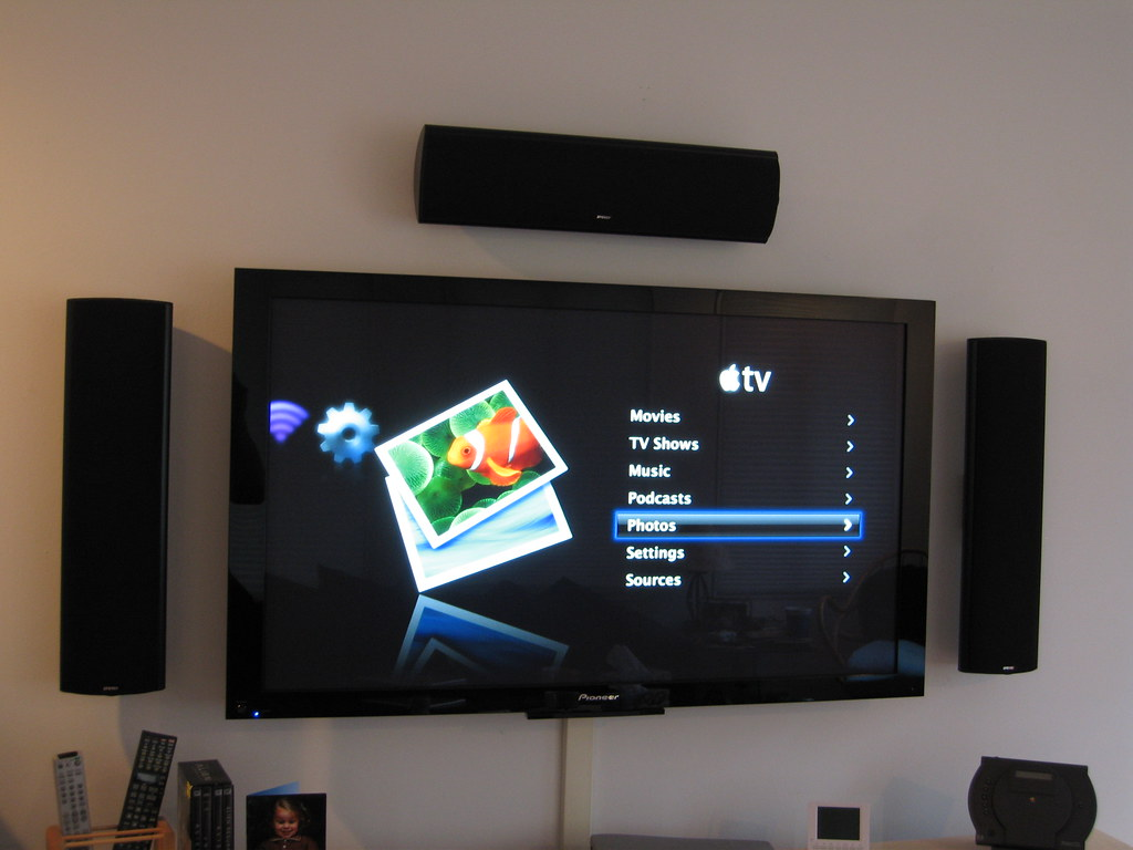 Apple Tv On The 50 Inch Pioneer Plasma Blake Patterson