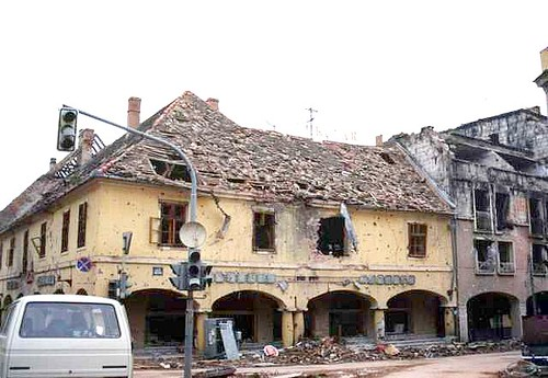 Balkans War 1991: Vukovar destroyed | by Peter Denton