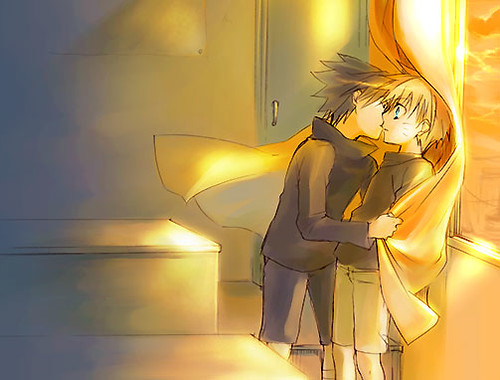 sasunaru kiss | karamel.town | Flickr