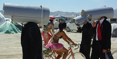 Security Cameras Are Everywhere! Burning Man 2008 | by redheadjokes