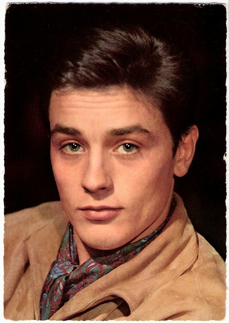 Alain Delon German Postcard By Kr 252 Ger Photo Ufa In