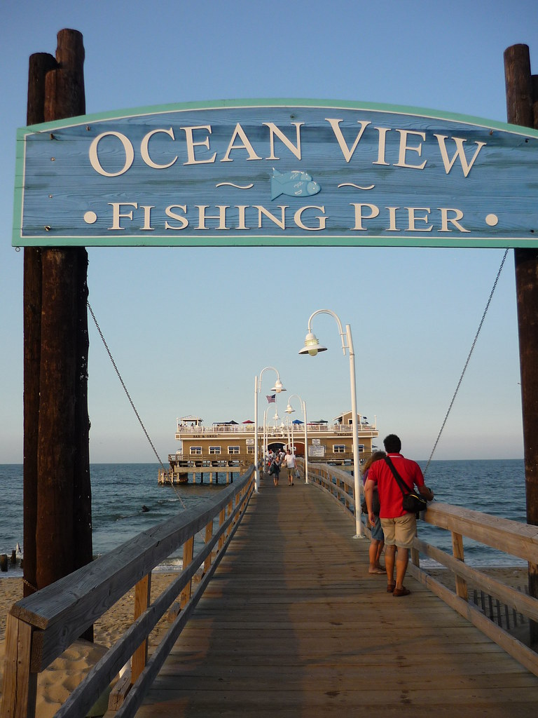 Ocean view fishing pier norfolk virginia petchie flickr for Fishing piers in va