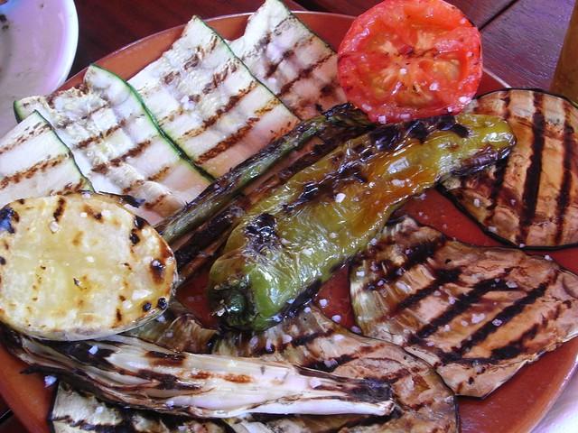 Parrillada de verduras ver art culo en mi blog en enlace for Parrillada verduras