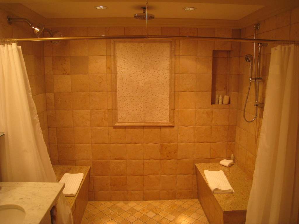 Carriage House Kohler Wisconsin Shower In This Suite Had Flickr