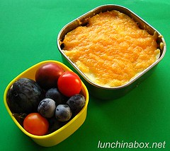 Shepherd's pie bento lunch for preschooler | by Biggie*