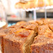 Wheat-free cinnamon and pear cake