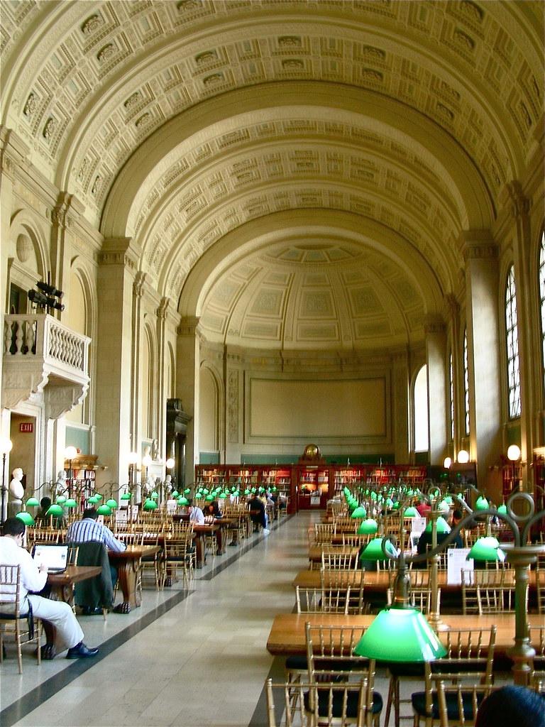 boston public library mckim mead white the main