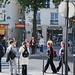Street scene in the Marais.