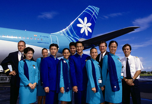 AIR TAHITI NUI Airbus A340-200 | For details about this ...