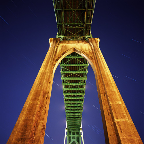 Everyone should have a St Johns Bridge of their own | by Zeb Andrews