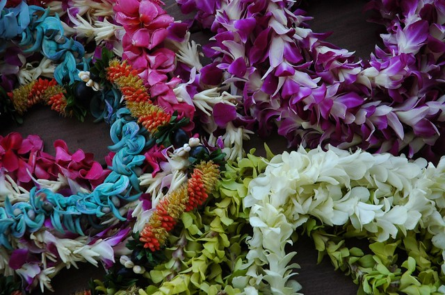 Colouful leis