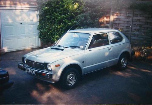 my old 1978 honda civic photo taken in 1988 flickr   photo sharing