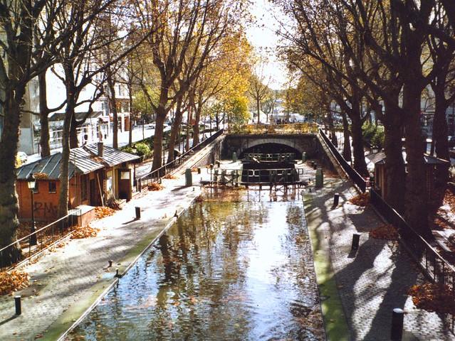 le canal saint martin paris l 39 h tel du nord dans le flickr. Black Bedroom Furniture Sets. Home Design Ideas