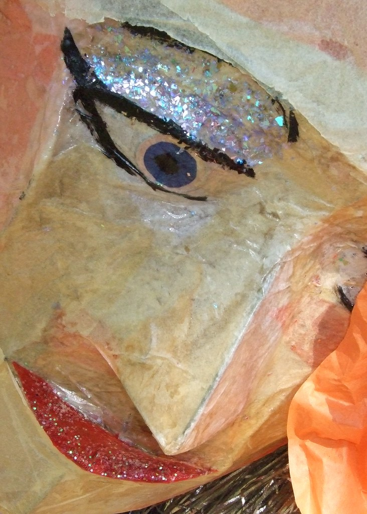 Let 39 s call her carmen one of the paper mache like for Paper mache objects