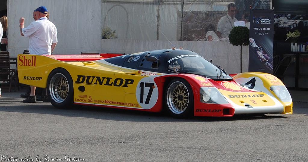 Shell Dunlop Porsche 962 010 The Last Factory Prepared