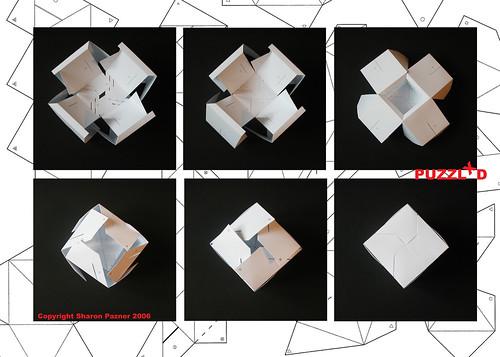 Как сделать кубик объемный из бумаги