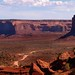 The Trail  Through Monument Valley, Utah