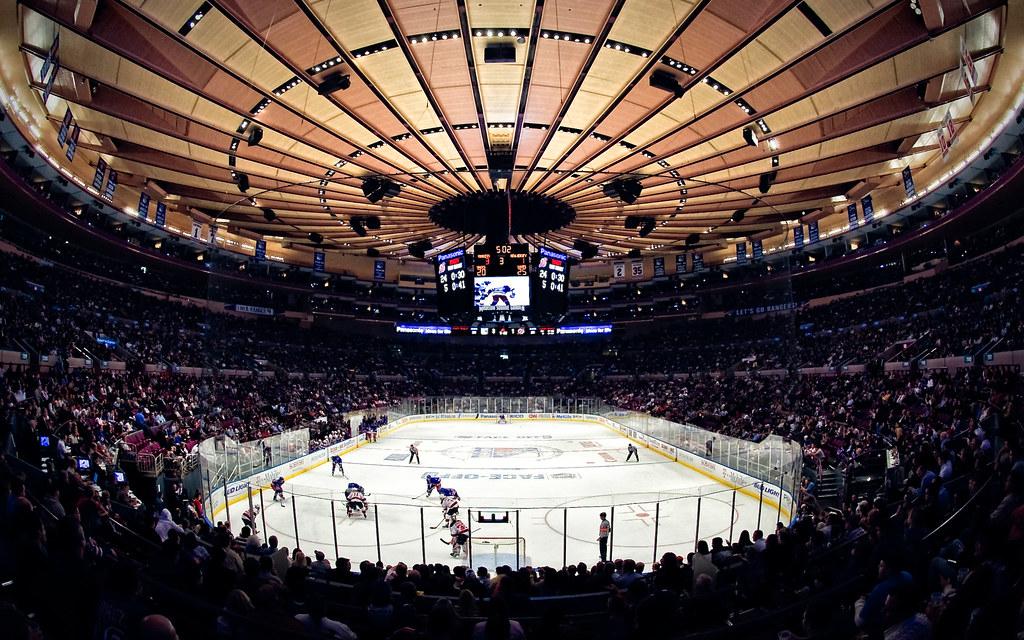 Madison Square Garden Rangers Vs Devils